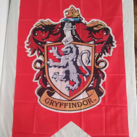 f5789cb5 Harry Potter Other | Gryffindor College Banner Wall Flag | Poshmark